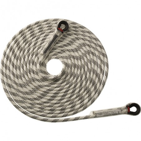 IRIDIUM 11 mm WITH LOOPS - Corda semi-statica 2811A
